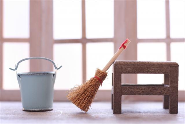 掃除はできるだけ毎日行う
